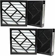 4er Pack Ersatz Bionaire W6S Luftbefeuchter Filter–Kompatibel Bionaire 911D Luftfilter