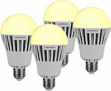 4er Pack Lampaous 15W E27 LED Lampe Birne,ersetzt