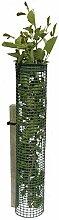 4er Pack Treeguard Baumschutzgitter Röhre 1.2m Ø 80-110mm, grün, zum Fege- und Verbissschutz