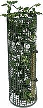 4er Pack Treeguard Strauch-/Baumschutzgitter Röhre 60cm Ø 170-200mm, grün, zum Fege- und Verbissschutz