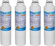 4er Packung IcePure Wasserfilter ersetzen Samsung, Kenmore, Sears, DA29-00020A, DA29-00020B, DA2900020A, DA2900020B, DA-97-08006A, DA-97-08006A-B, DA-97-08006B, DA2900019A, DA97-08006A-B, DA29-00019A, HAF-CIN, HAF-CIN-EXP, HAF-CINEXP, HAFCIN, 9101, 46-9101, 469101, WF294
