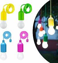 4er Pull Light Lampe Tragbare LED Campinglampe LED