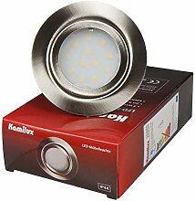 4er Set 12V Power LED Möbel Schrank Küchen