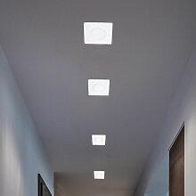 4er Set LED Decken Spots weiß Wohn Arbeits Zimmer