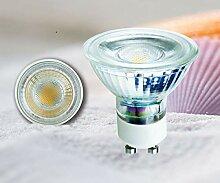 4er Set LED-Leuchtmittel Fassung GU10-7Watt 3000K