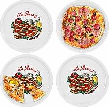 4er Set Pizzateller Napoli groß - 30,5cm