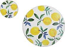 4er Set Platzsets + Untersetzer Lemons Zitronen