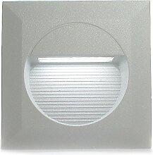 4er Set RAYON eckig (1-5er Sets) LED Kalt-Weiß