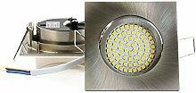 4er SET Ultraflacher 3,5 W LED Einbaustrahler