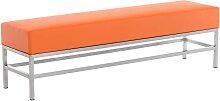 4er Sitzbank Tulip-orange
