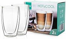 4Home Hot&Cool Latté Macchiato Thermo Glasses 410