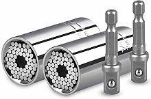 4Pcs Universal Steckschlüssel (7-19mm) -