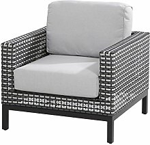 4Seasons Outdoor Dias Living Sessel Black Pepper inkl. 2 Kissen 213119