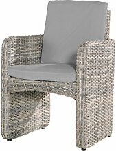 4Seasons Outdoor dining Sessel Barbados Geflechtsessel Polyrattan lagun