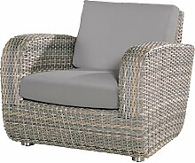 4Seasons Outdoor living Sessel Barbados Geflechtsessel Polyrattan lagun wicker