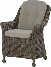4Seasons Outdoor Madoera dining Sessel Polyrattan colonial wicker inkl. Kissen