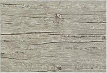 4teiliges hochwertiges Platzset 4er in Eiche grau Holzoptik Tischset Platzdeckchen Platzdecke Dekoration Küchendeko Tischmatte