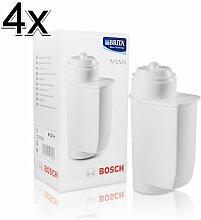 4x Bosch TCZ7003 Wasserfilter Brita Intenza für Kaffee Vollautomaten