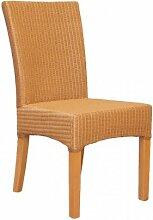 4x Esszimmerstuhl Stuhl Bilbao Loom-Geflecht Loom