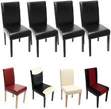 4x Esszimmerstuhl Stuhl Küchenstuhl Littau ~
