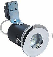 4x GU10 230Volt 5Watt LED Leuchtmittel, warmweiß,