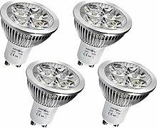 4x GU10 LED SPOT Lampe LED Strahler Licht