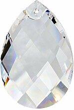 4X Kristall Sonnenfänger Facettenwachtel 50mm