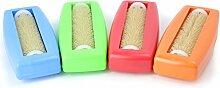 4x Krümelbürste Crumpy, Krümelroller Tischroller Tischbesen Teppichbürste Tischkehrer Handstaubsauger Tischdecken Bürste Auto Caravan Staubsauger Rapido Aspiratutto blau+grün+ro