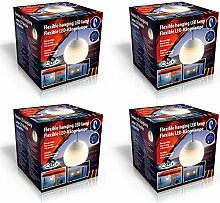 4x LED Hängelampe Camping Lampe