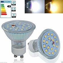 4x LED Spot Lampe ersetzt 50 W GU10