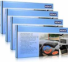 4x Wenko Auto Entfeuchter Kissen 1 kg Scheibenfrei
