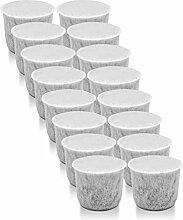 4x WMF Wasserfilter Aktivkohle für