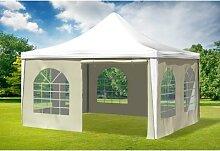 4x4 m Pavillon ARABICA PVC 400 g/m² - wasserdicht