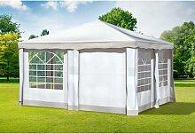 4x4 m Pavillon DELUXE Polyester-PVC 280 g/m² -