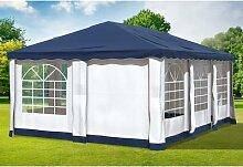 4x6 m Pavillon DELUXE Polyester-PVC 280 g/m² -