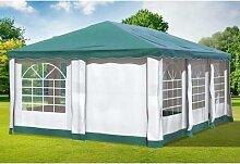 4x6 m Pavillon DELUXE Premium-PVC 400 g/m² -