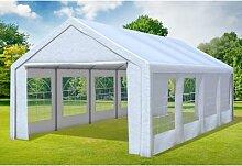 4x8 m Partyzelt Classic Premium PVC 400 g/m² -
