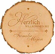 4you Design Baumscheibe Herzlich Willkommen -