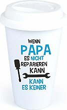 4you Design Coffee-to-Go-Becher Spruch Wenn Papa