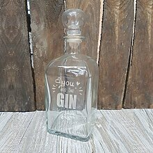 4you Design Gin-Karaffe You Are The Gin to My