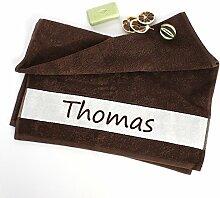 4you Design Handtuch 50x100 mit Namen -