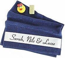 4you Design Handtuch zur Geburt oder Taufe mit
