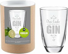 4you Design Leonardo Gin-Glas Am Ende ergibt Alles