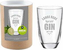 4you Design Leonardo Gin-Glas Lange Rede, kurzer