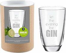 4you Design Leonardo Gin-Glas Let The Evening be