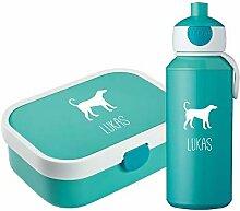 4you Design Set ♡Brotdose & Trinkflasche Hund