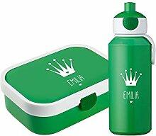 4you Design Set ♛Brotdose & Trinkflasche Krone