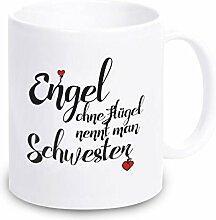 4you Design Tasse Engel ohne Flügel nennt Man
