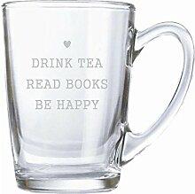 4you Design Teeglas/Kaffeeglas 320ml mit Gravur