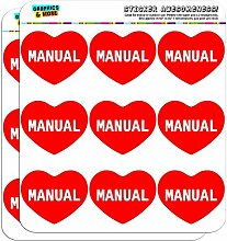 5cm (5,1cm) Scrapbooking, Aufkleber I love Herz Namen Stecker M Mac Manual